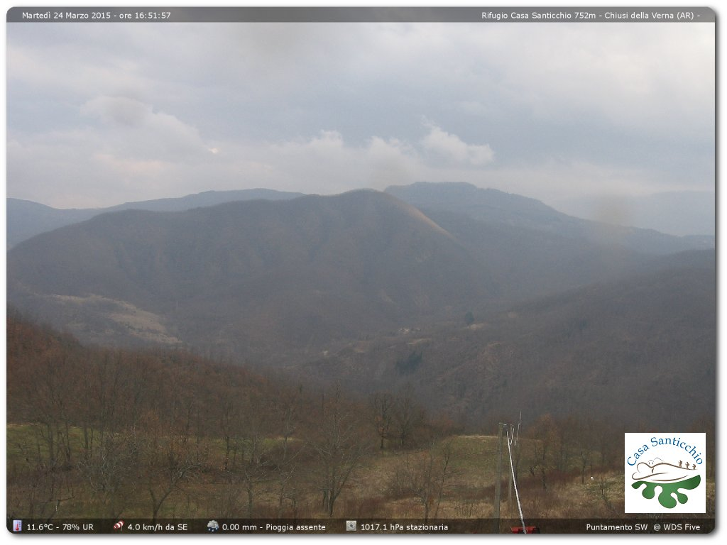 Webcam Chiusi della Verna