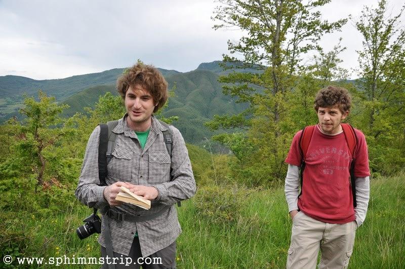 Andrea e Mattia della Cooperativa In Quiete, guide nella Foresta Casentinese - Vallesanta - Arezzo - Toscana - Italia - #welikecasentino