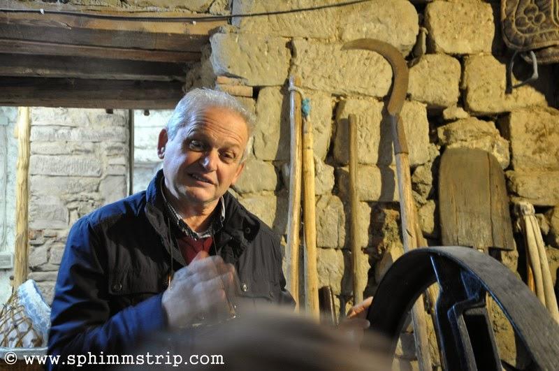 Angiolo Fani, gestore del 'Granaio di Narciso' - Frassineta - Arezzo - Toscana - Italia - #welikecasentino